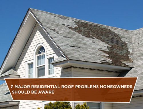7 Major Residential Roof Problems Homeowners Should Be Aware