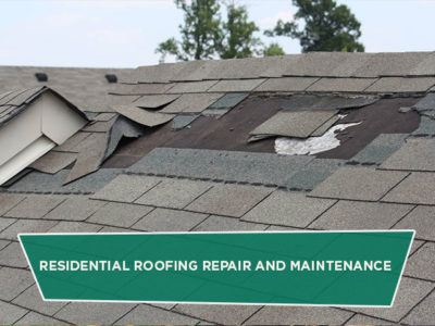 Residential Roofing Repair and Maintenance