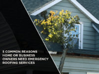 5 Common Reasons Home Or Business Owners Need Emergency Roofing Services
