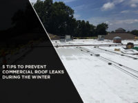 5 Tips to Prevent Commercial Roof Leaks During the Winter