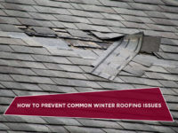 How to Prevent Common Winter Roofing Issues