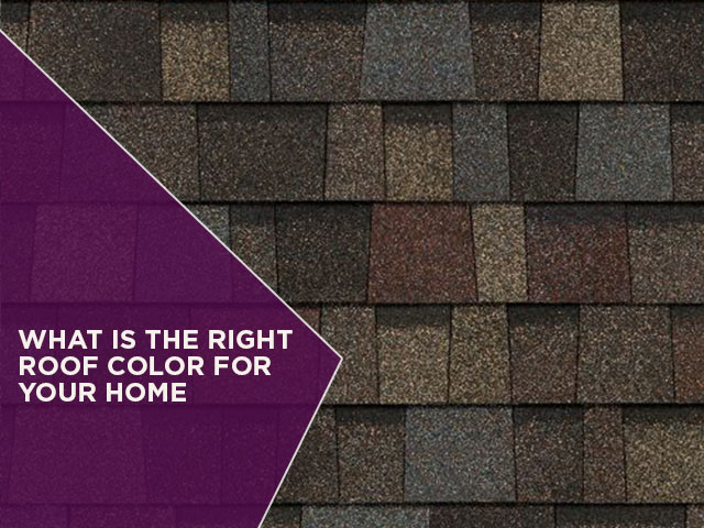 What is the Right Roof Color For Your Home