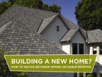 Building A New Home? How To Decide Between Hipped Or Gable Roofing