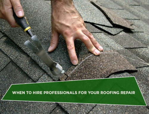When to Hire Professionals for Your Roofing Repair