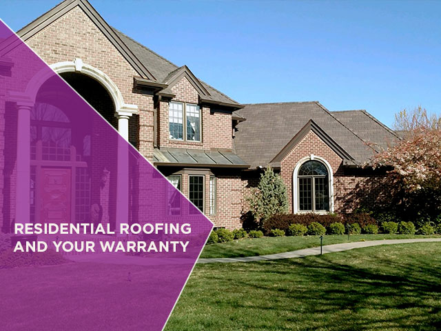 Residential Roofing And Your Warranty North Shore Roofing