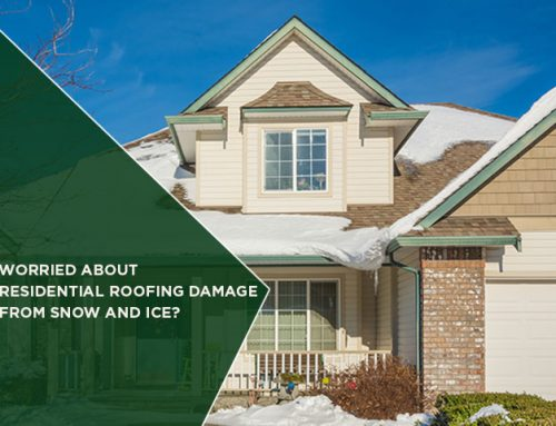 Worried About Residential Roofing Damage From Snow And Ice?