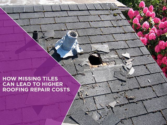 How Missing Tiles Can Lead To Higher Roofing Repair Costs