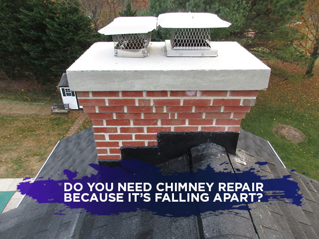 Do You Need Chimney Repair Because It's Falling Apart?