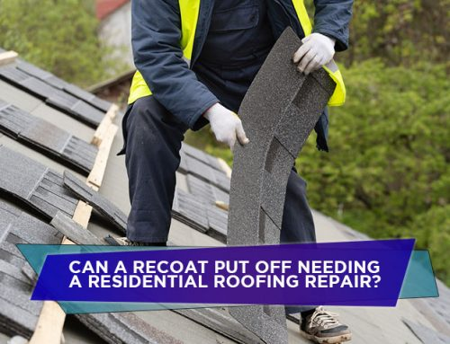 Can A Recoat Put Off Needing A Residential Roofing Repair?