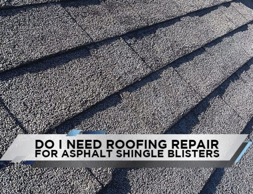 Do I Need Roofing Repair For Asphalt Shingle Blisters